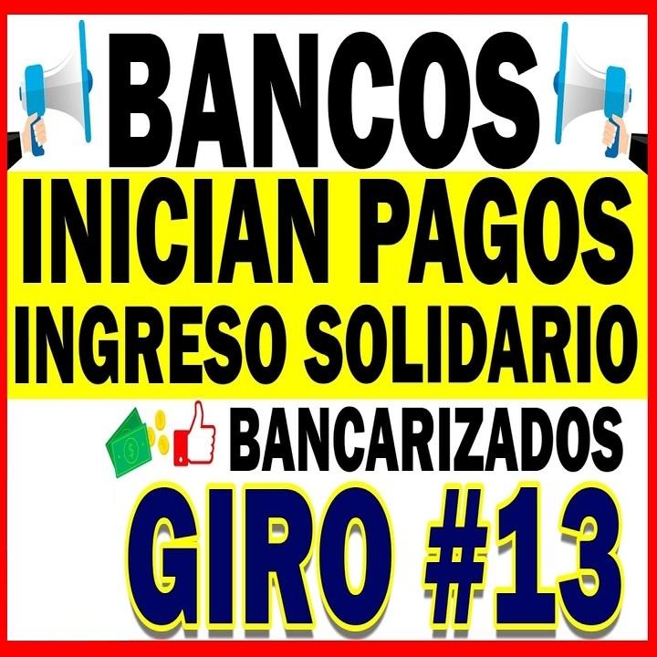 Conozca los bancos que ya desembolsaron el Ingreso Solidario de abril