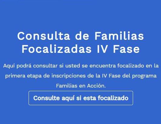 Listado de beneficiarios de Familias en Acción